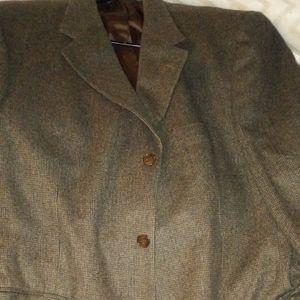 Excellent quality xl wool blazer